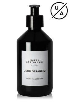 Urban Apothecary 300ml Oudh Geranium Luxury Hand & Body Wash