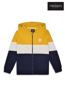Threadboys Zip Through Hooded Jacket