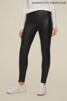 Dorothy Perkins Coated Frankie Jeans