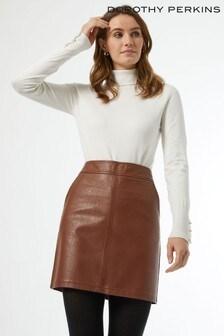 Dorothy Perkins PU Pocket Mini Skirt
