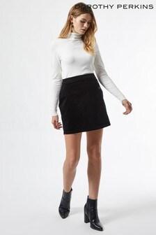 Dorothy Perkins Cord Wrap Mini Skirt