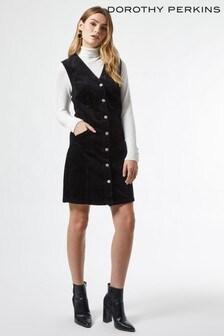 Dorothy Perkins Button Cord Piny Dress