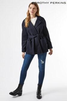 Dorothy Perkins Belted Wrap Coat