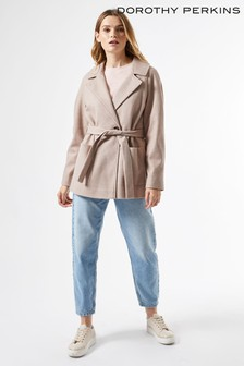 Dorothy Perkins Wrap Throw On Coat