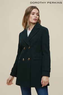 Dorothy Perkins Forest Peacoat