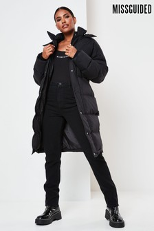 Missguided Longline Padded Jacket