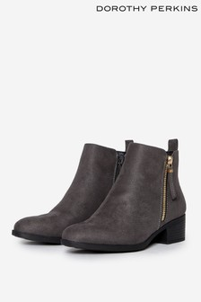 Dorothy Perkins Zip Up Ankle Boot
