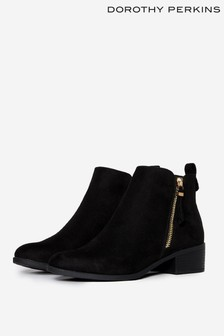 Dorothy Perkins Wide Fit Zip Boots
