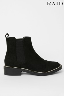 Raid Faux Suede Chelsea Ankle Boot