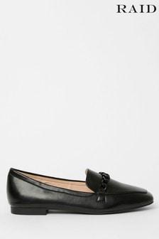 Raid Chain Detail Flat Loafer