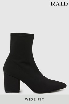 Raid Wide Fit Pointed Ankle Boot