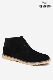 Threadbare Shoes Chukka Boot Faux Suede