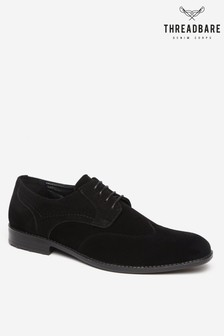 Threadbare Shoes Faux Suede Full Brogue