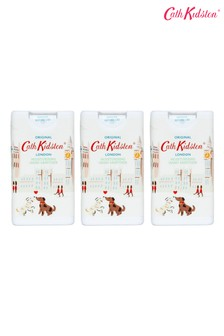 Cath Kidston London People Moisturising Hand Sanitiser 15ml Set of 3