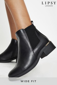 Lipsy Wide Fit Chelsea Boot