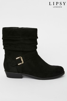 Lipsy Girls Flat Slouch Boot