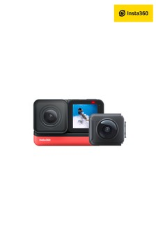 Insta360 ONE R Twin Edtion Action Camera with Interchangable Lens(360+4K)