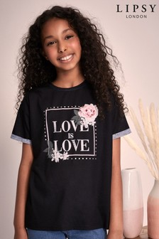 Lipsy Girl Oversized Tee