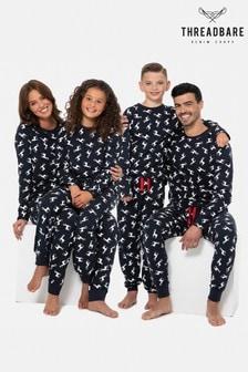 Threadbare Womens Family Christmas Pyjamas