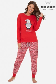 Threadbare Womens Christmas Pyjamas