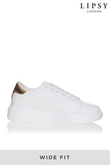 Truffle Wide Fit Flatform Trainer