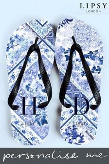 Personalised Lipsy Flip Flops By Treat Republic