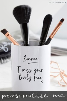Personalised Brush Pot By Koko Blossom