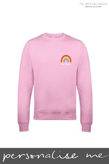 Personalised Rainbow Kids Sweatshirt by Gift Collective