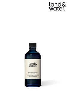land&water Bath & Body Oil Orange Ginger & Geranium 100ml