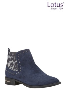 Lotus Footwear Studded Ankle Boots