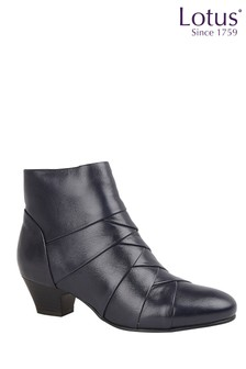 Lotus Footwear Leather Ankle Boots