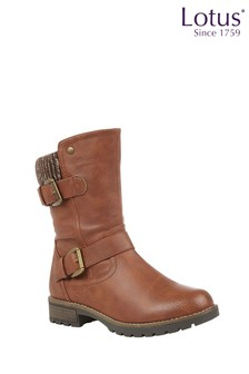 Lotus Footwear Mid Calf Boots