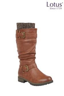 Lotus Footwear Knee High Boots