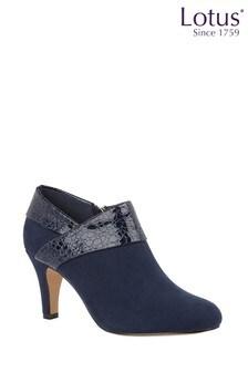 Lotus Footwear Reptile Print Shoe Boots