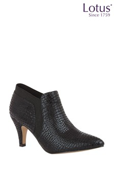 Lotus Footwear Pointed Toe Shoe Boots