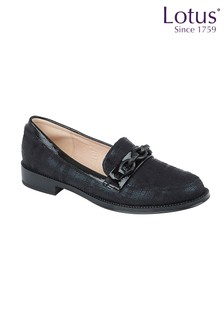 Lotus Footwear Textile Loafers