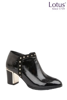 Lotus Footwear High Shine Shoe Boots