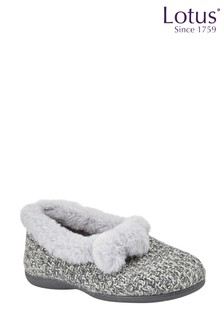 Lotus Footwear Textile Knitted Slippers