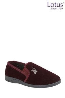 Lotus Footwear Corduroy Slippers