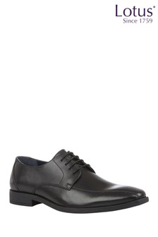 Lotus Footwear Leather Lace-Up Derby Shoes
