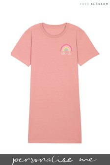 Personalised Rainbow Nightie by Koko Blossom