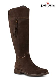 Joe Browns Wanderer Studded Suede Boots