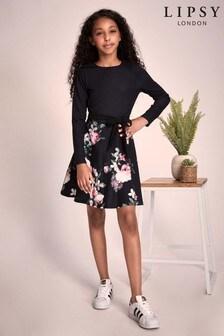 Lipsy Girl Floral 2-in-1 Dress