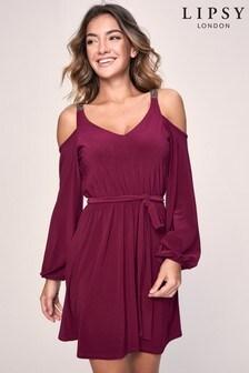 Lipsy Embellished Strap Dress