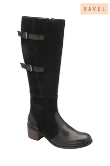 Ravel Leather Knee High Boots