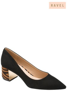 Ravel Zebra Print Court Shoes