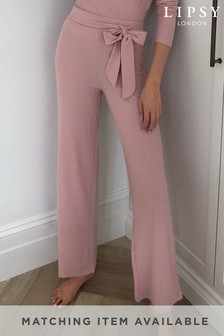 Lipsy Wide Leg Lounge Bottoms