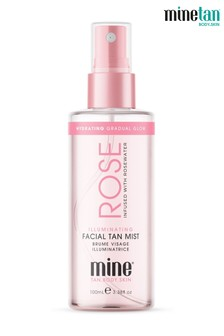 MineTan Rose Water Facial Tan Mist 100ml