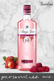 Personalised Gordon's Pink Gin