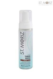 St Moriz Professional Medium Dark Clear Tanning Mousse 200ml